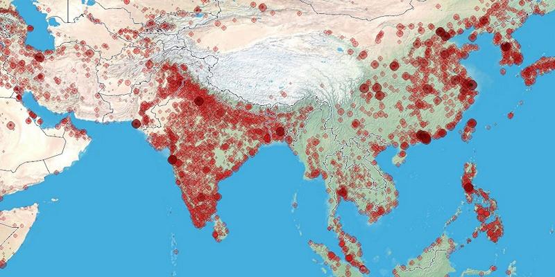 India lakossága 2018